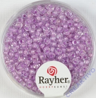 Rayher Rocailles Arktis 2,6mm gelüstert zartlila