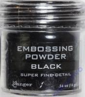 Ranger Embossing Puder Super Fine Detail schwarz 16g