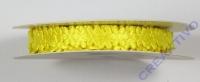 Rayher Satinband Blumen 8mm 5m gelb