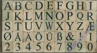 Stempelset Alphabet + Zahlen