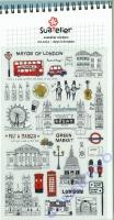 Stickerbogen Days in London