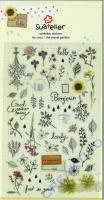 Stickerbogen The Secret Garden