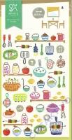 Stickerbogen Kitchen