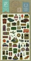 Stickerbogen Travel Story