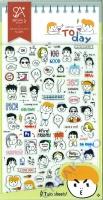 Stickerbogen Today