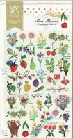 Stickerbogen Love Flowers