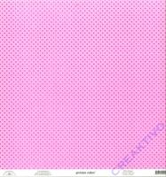 Doodlebug Transparentpapier Sprinkles 30,5x30,5cm - bubblegum