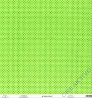 Doodlebug Transparentpapier Sprinkles 30,5x30,5cm - limeade