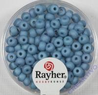 Silk Beads Glas Rocailles 4mm petrol