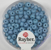 Silk Beads Glas Rocailles 4mm fuchsia
