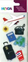 Heyda Sticker Flugreise