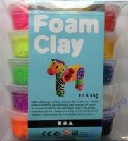 Foam Clay Modelliermasse 10x35g