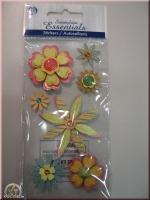 Heyda Sticker Herz-Blumen