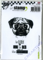 Art Stamp - To be or not to be