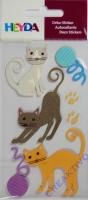 Heyda Sticker Katzen