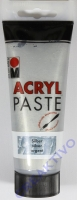 Marabu Acryl Paste silber