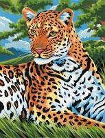 Malen nach Zahlen Junior - Leopard