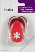 Heyda Hebel-Motivstanzer klein Eiskristall