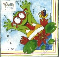 Servietten Frosch (Restbestand)