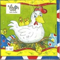 Servietten Hühner (Restbestand)