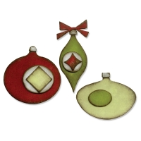 Sizzix Bigz Die - Retro Ornaments