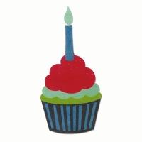 Sizzix Bigz Die - Cupcake