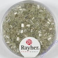 Glasstifte, 2/2 mm, mit Silbereinzug silber