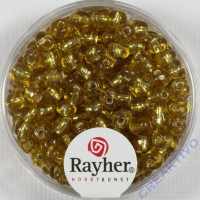 RayhrRocailles mit Silbereinzug 4mm gold