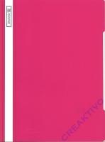 PVC Schnellhefter eosin / pink