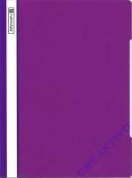PVC Schnellhefter violett