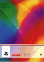 Heft A4 16 Blatt blanko Nr. 20