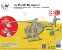 3D Puzzle Hubschrauber