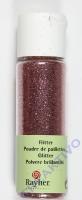 Rayher Flitter, ultrafein, rosé, Fläschchen 20ml