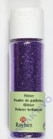 Rayher Flitter, ultrafein, purple velvet, Fläschchen 20ml