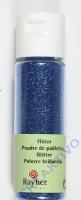 Rayher Flitter, ultrafein, azurblau, Fläschchen 20ml