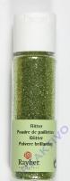 Rayher Flitter, ultrafein, lindgrün, Fläschchen 20ml