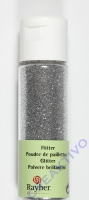 Rayher Flitter, ultrafein, brill.silber, Fläschchen 20ml