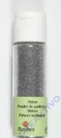 Rayher Flitter, ultrafein, brill.silber, Fläschchen 20ml