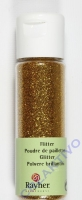 Rayher Flitter, ultrafein, venez.gold, Fläschchen 20ml