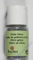 Rayher Effekt Glitter ultrafein brill.silber