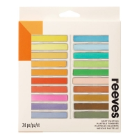 24 Fine Soft Pastels von Reeves