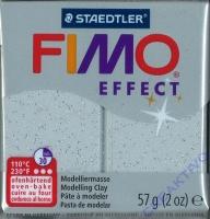 Fimo Effekt Modelliermasse 57g glitter silber