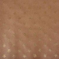 Scrapbookingpapier Kraft-Sterne gold