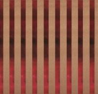 Scrapbookingpapier Kraft-Streifen klassikrot