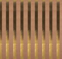Scrapbookingpapier Kraft-Streifen gold