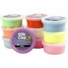 Silk Clay Modelliermasse 10x40g Basic 2