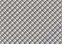 Motiv-Fotokarton 300g/qm 50x70cm Karos & Punkte schwarz/weiß