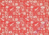 Motiv-Fotokarton 300g/qm 49,5x68cm Weihnachten Nostalgie Motiv 03