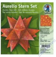 Aurelio Stern Set 14,8x14,8cm transparent Sternenglanz