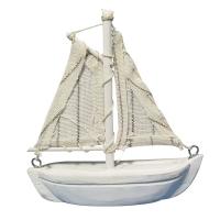 Polyresin-Segelboot, 8,5 cm